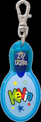 John Hinde Zip Light mit Namen Kevin