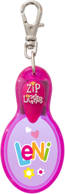 John Hinde Zip Light mit Namen Leni