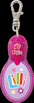 John Hinde Zip Light mit Namen Lilli