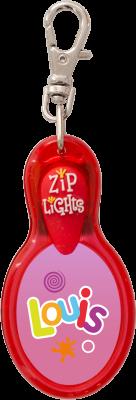 John Hinde Zip Light mit Namen Louis