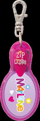 John Hinde Zip Light mit Namen Marlene