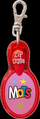 John Hinde Zip Light mit Namen Mats