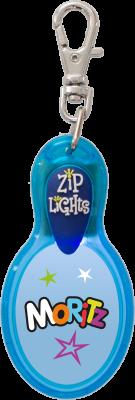 John Hinde Zip Light mit Namen Moritz