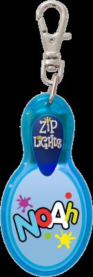 John Hinde Zip Light mit Namen Noah
