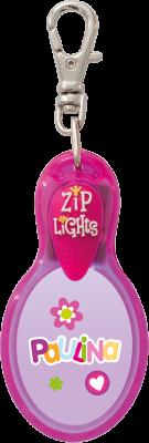 John Hinde Zip Light mit Namen Paulina
