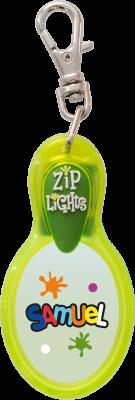 John Hinde Zip Light mit Namen Samuel