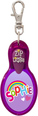 John Hinde Zip Light mit Namen Sophie