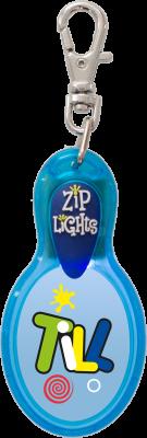 John Hinde Zip Light mit Namen Till