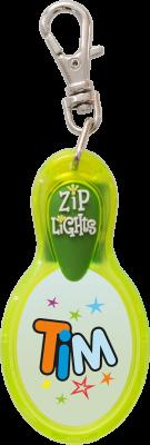 John Hinde Zip Light mit Namen Tim