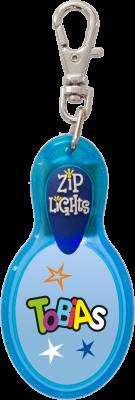 John Hinde Zip Light mit Namen Tobias