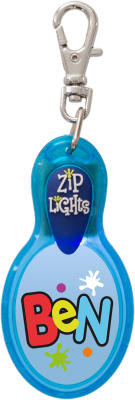 John Hinde Zip Light mit Namen Ben