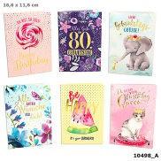 Depesche Portofino Klappkarten Geburtstagskarten 036 - Be HAPPY it's your BIRTHDAY!