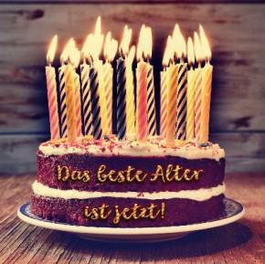 Depesche 3D Klappkarte 054 Das beste Alter ist jetzt! Alle Guten Wünsche zum Geburtstag!