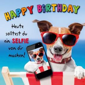 Depesche 3D Klappkarte 050 Happy Birthday Heute solltest du ein ..