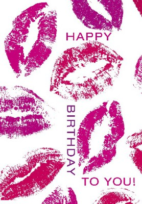 Pink Flamingo Geburtstagskarte Klappkarte