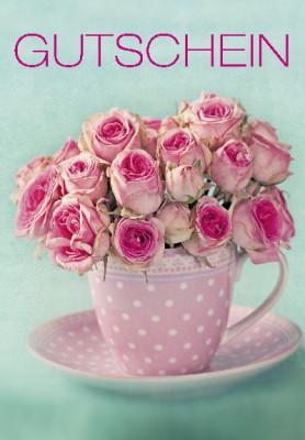 Pink Flamingo Geburtstagskarte Klappkarte Gutschein
