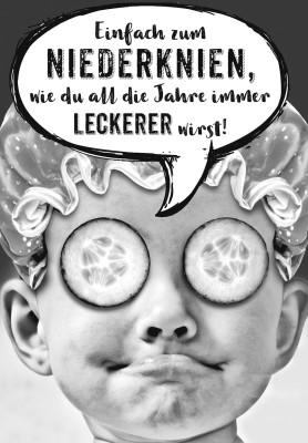 Depesche lustige Klappkarten Menschenskinder Einfach zum Niederknien, wie du all...