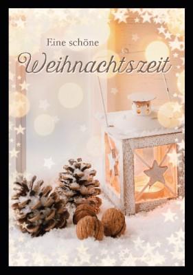 Depesche 3D Weihnachtsklappkarte 019  Eine schöne Weihnachtszeit
