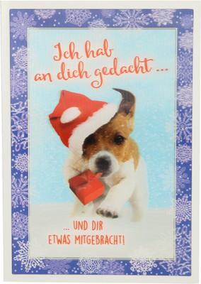 Depesche 3D Weihnachtsklappkarte 030 Ich hab an dich gedacht.. und dir ...