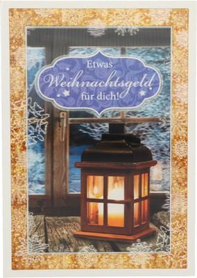 Depesche 3D Weihnachtsklappkarte 032 Etwas Weihnachtsgeld für dich!