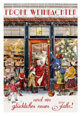 Depesche 3D Weihnachtsklappkarte 045 Frohe Weihnachten und ein glückliches...
