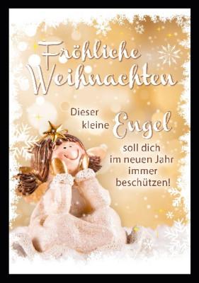 Depesche 3D Weihnachtsklappkarte 046 Fröhliche Weihnachten Dieser kleine ...