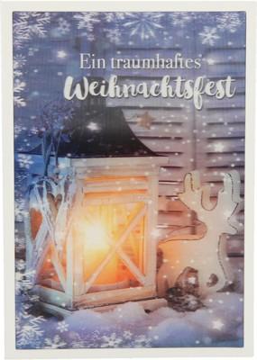 Depesche 3D Weihnachtsklappkarte 048 Ein traumhaftes Weihnachtsfest