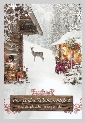 Depesche 3D Weihnachtsklappkarte 050 Ein frohes Weihnachtsfest und ein...
