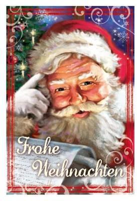 Depesche 3D Weihnachtsklappkarte 051 Frohe Weihnachten