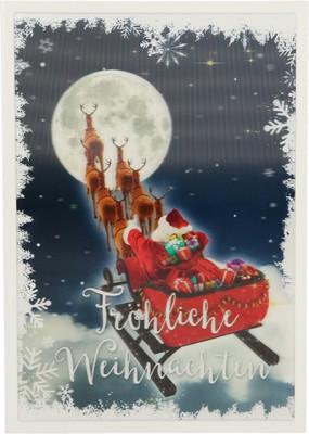Depesche 3D Weihnachtsklappkarte 055 Fröhliche Weihnachten