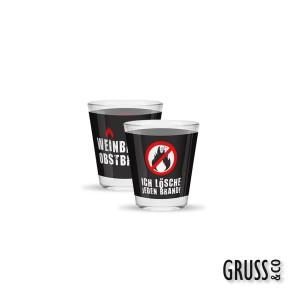 Sheepworld Gruss und Co 1 Schnapsglas mit Spruch Weinbrand