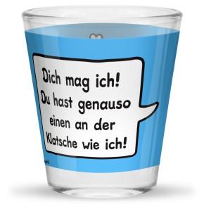 Sheepworld Gruss und Co 1 Schnapsglas mit Spruch Klatsche