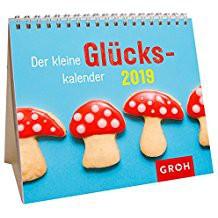Groh Mini-Kalender 2019 zum Aufstellen der kleine Glückskalender