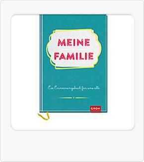 Groh Buch Erinnerungsbuch Meine Familie