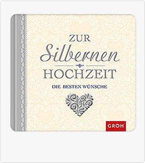 Groh Buch Zur silbernen Hochzeit die besten Wünsche