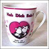 Sheepworld Lieblingstasse Nr. 5 mit Spruch Hab Dich lieb