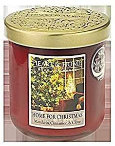 Heart & Home Duftkerze im Glas Home for Christmas 340g Inhalt: 0,34 Kilogramm (88,21 € * / 1 Kilogramm)