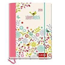 Groh Buchkalender 2019  Verspielter Buchkalender mit inspirierenden Zitaten ideenreich