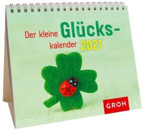 Groh Mini-Kalender zum Aufstellen für 2021 Der kleine Glückskalender