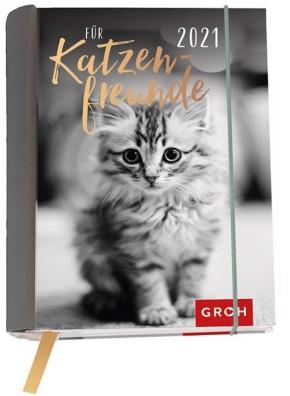 Groh Buchkalender 2021 Für Katzenfreunde