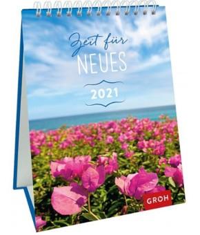 Groh Wandkalender oder Kalender zum Aufstellen 2021 Zeit für Neues