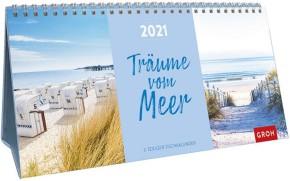 Groh 3-teiliger Tischkalender 2021 Träume vom Meer