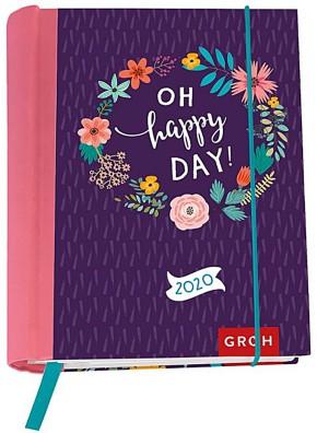 Groh Buchkalender für 2020 Oh happy day!