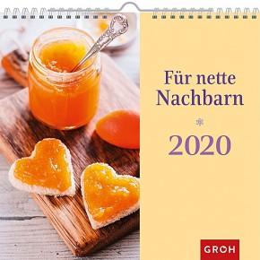 Groh Wandkalender 2020 Für nette Nachbarn