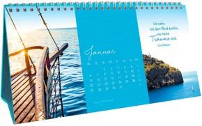 Groh 3-teiliger Tischkalender 2020 Träume vom Meer