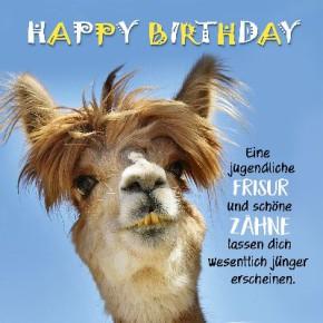 Depesche 3D Klappkarte 047 Happy Birthday Eine jugendliche Frisur..