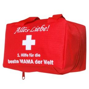 Lustiges Geschenk für Mütter Tasche 1. Hilfe für Mama