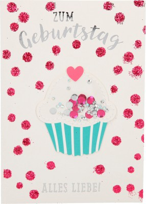 Depesche Portofino Klappkarten Geburtstagskarten 037 - Süße Geburtstagsgrüße!