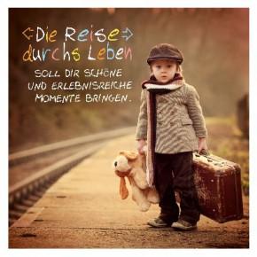Depesche 3D Klappkarte 053 Die Reise durchs Leben soll dir schöne..