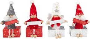 Weihnachtsgeldschachtel 1 Schachtel Gruß und Wichtel Figur Motiv sortiert